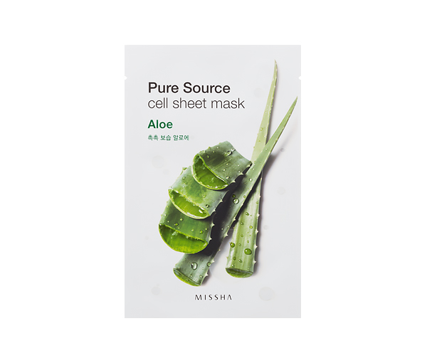 MISSHA Pure Source Cell Sheet Mask (Aloe)