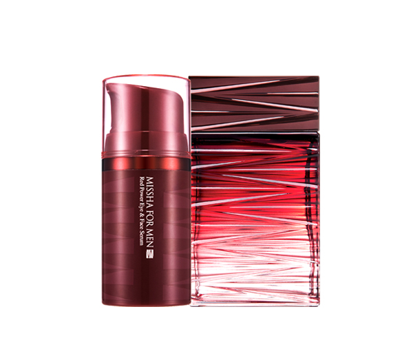 Zestaw for men red power skin