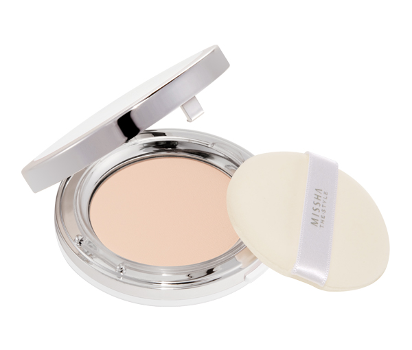 MISSHA The Style Fitting Wear Powder Pact SPF 25PA++ (No.21 Light Beige)