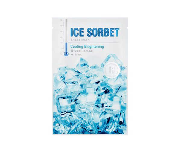 MISSHA Ice Sorbet Sheet Mask (Cooling Brightening)