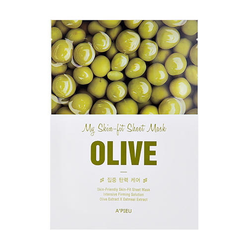 My Skin Fit Sheet Mask Olive WORDPRESS