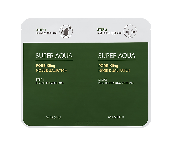 MISSHA Super Auqa Pore-Kling Nose Dual Patch