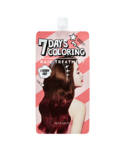 MISSHA Seven Days Coloring Hair Treatment (Cherry Red)