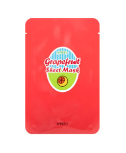 A'PIEU Grapefruit & Sparkling Sheet Mask