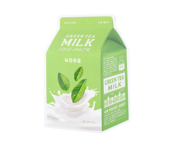 A'PIEU Milk One Pack_Green Tea Milk