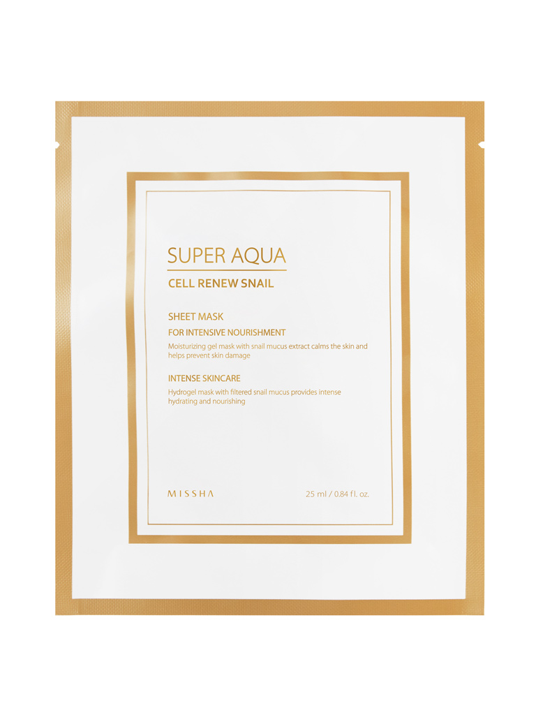 MISSHA-Super-Aqua-Cell-Renew-Snail-Hydro-Gel-Mask_Multi-language